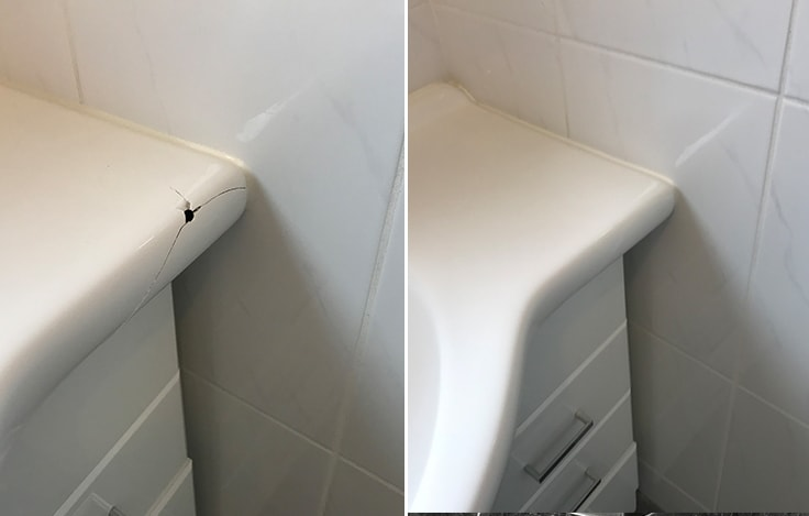 Panel Resurfacing Gosfield | Cracked Sink Repair Gosfield
