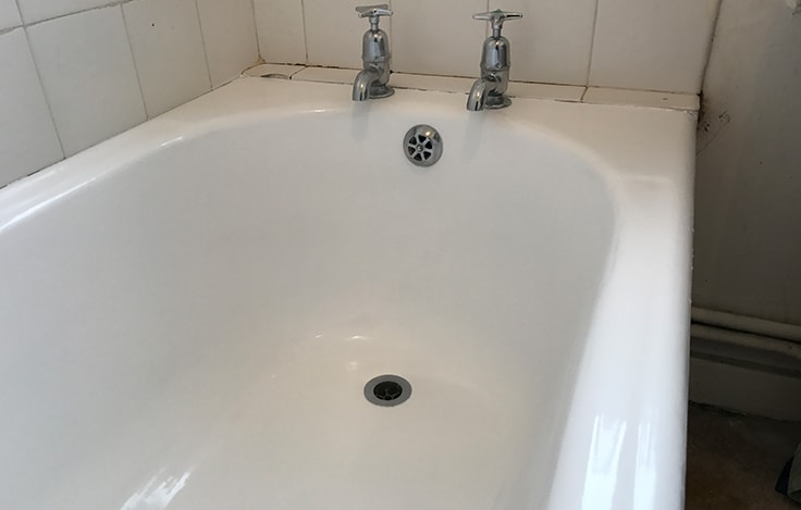 Panel Resurfacing Halstead | Cracked Sink Repair Halstead